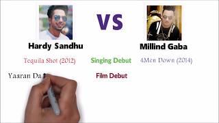 Hardy Sandhu vs Millind Gaba - Who is the Best ?