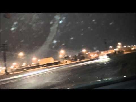 Flint, Michigan - Winter Mix Drive