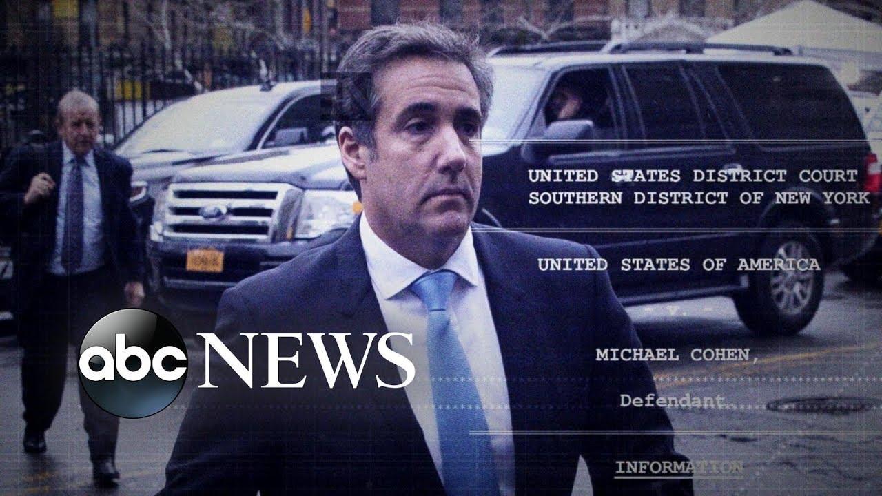 Michael Cohen's bombshell plea