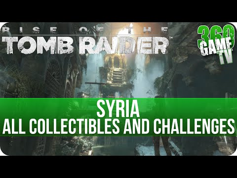 Rise of the Tomb Raider - Syria - All Collectibles and Hang 'EM High Challenge Locations