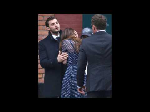 Fifty Shades Darker 2017  Dakota Johnson, Jamie Dornan Behind the Scenes