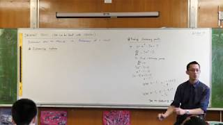 Understanding Stationary Points (3 of 3: Determining nature)