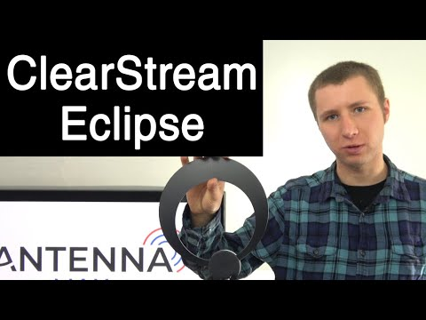 ClearStream Eclipse Amplified Indoor HD TV Antenna Review
