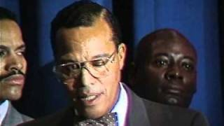 The Announcement: Farrakhan Reveals The Plot Against Ghaddafi, Libya, & Black America (1989)