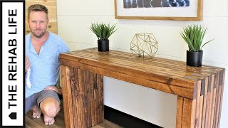 The $40 Console Table - Easy DIY Project!