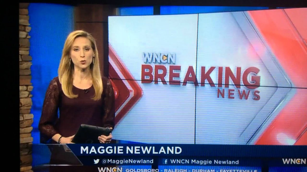Wncn Wncn News Now At 7pm Saturday Open 01 30 16 Youtube