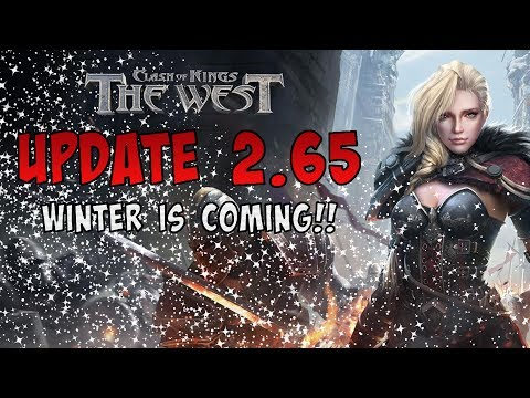 UPDATE 2.65 - CLASH OF KINGS: THE WEST