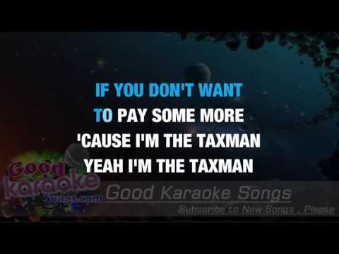 Taxman - The Beatles ( Karaoke Lyrics )
