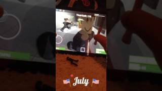 Zombie rush/killing some zombies/roblox game play