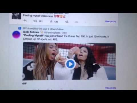"""Feeling Myself"" Beyonce & Nicki Minaj Video Top Trend"
