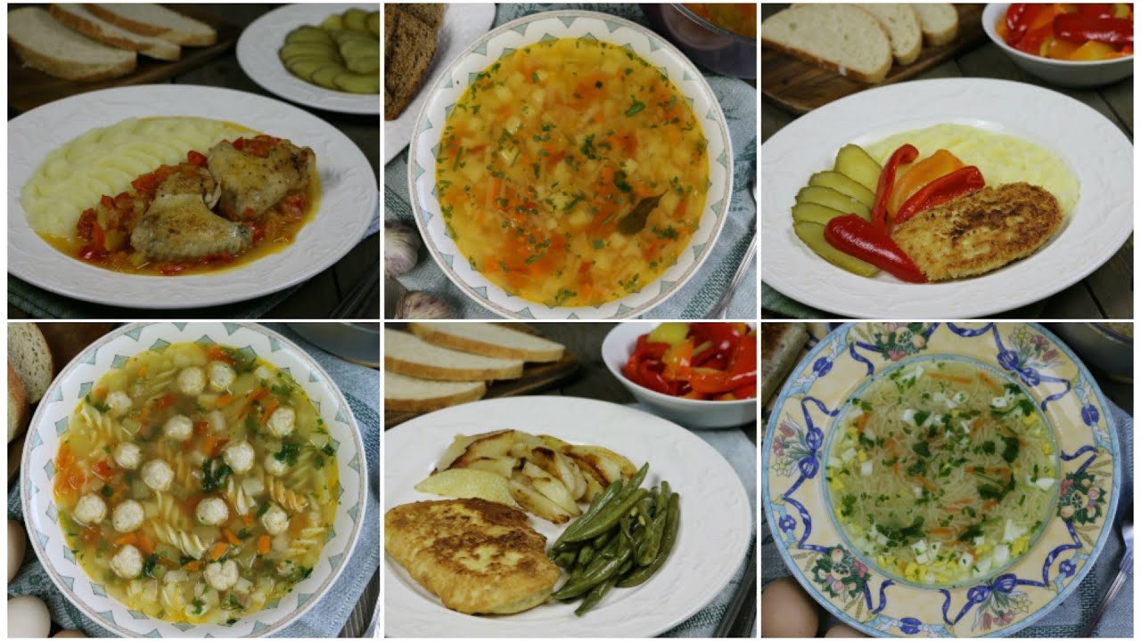 Как приготовить три полноценных обеда из одной курицы (часть 2)