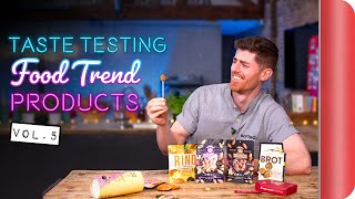 Taste Testing the Latest Food Trend Products | Vol.5