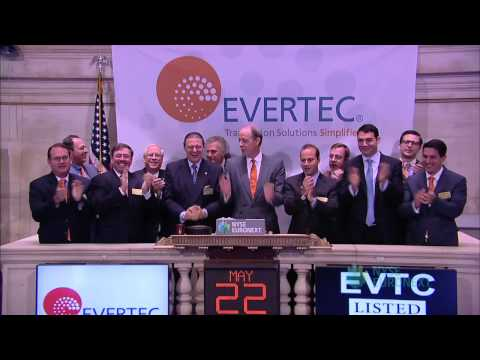 Full-Service Transaction Processing Company, EVERTEC, Celebrates Recent IPO With NYSE Opening Bell