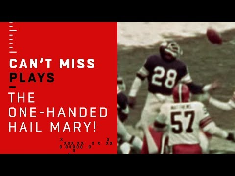 The OneHanded Hail Mary! Ahmad Rashad's Incredible GameWinning Catch  NFL