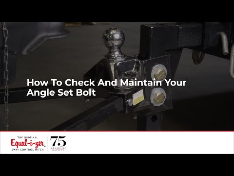 How To Check And Maintain Your Angle Set Bolt