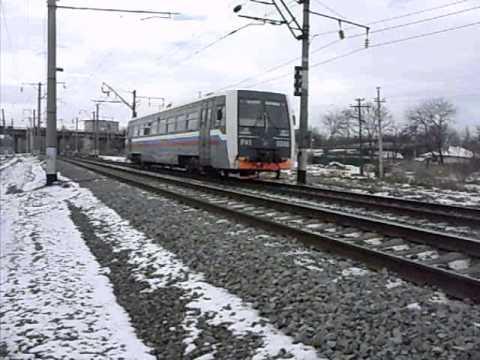 Пригородный поезд РА1