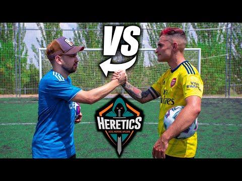 HERETICS PEEREIRA7 VS DELANTERO09 - Retos de Fútbol Épicos