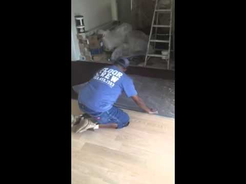 Water popping hardwood flooring youtube for Hardwood floors popping