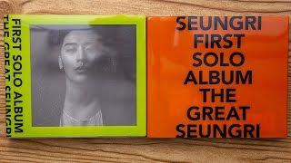 Baixar Unboxing | SEUNGRI FIRST SOLO ALBUM - THE GREAT SEUNGRI (MELON + ORANGE Version)