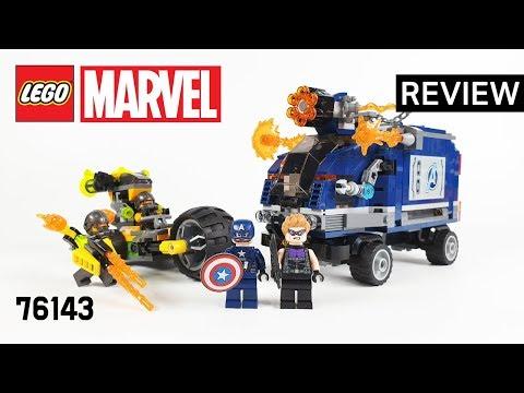 레고 슈퍼히어로즈 76143 어벤져스 트럭 급습(Superheroes Avengers Truck Take-down) - 리뷰_Review_레고매니아_LEGO Mania
