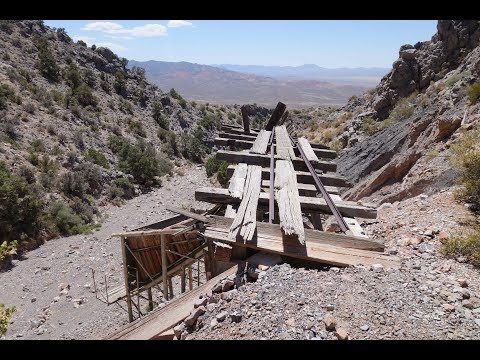 Exploring Nevada's Abandoned Shoshone Mine