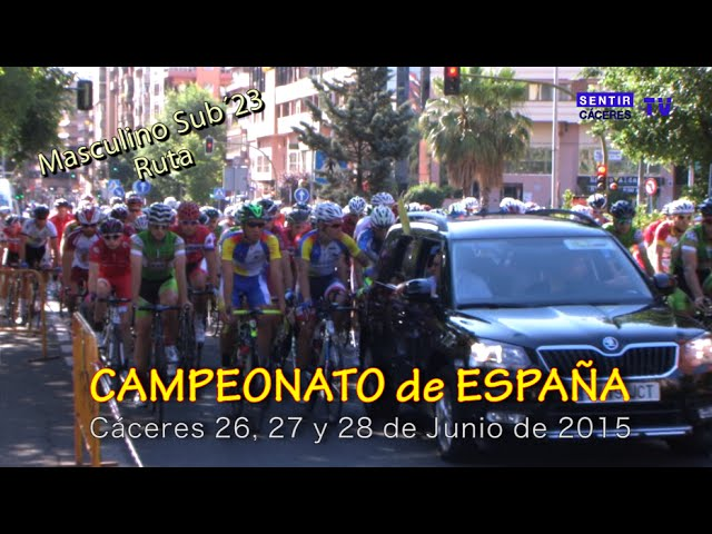 Campeonato España Ciclismo Cáceres 2015 - Ruta Masculino Sub´23