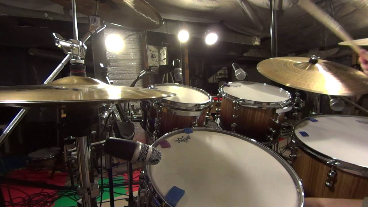 neewer nw 7a drum set mic pack test really cheap drums mics set up closer and mic clip mod