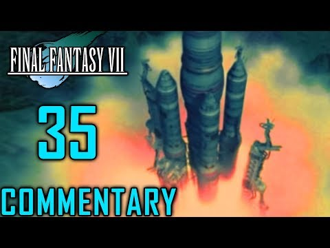 Final Fantasy VII Walkthrough Part 35 - Captain Cid's Story In Rocket Town