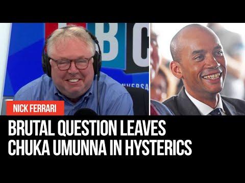 Nick Ferrari's Brutal Question Leaves Chuka Umunna In Hysterics