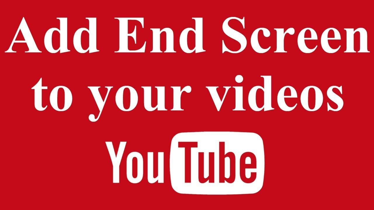 worksheet Addend how to add end screen youtube videos videos