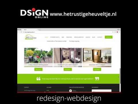 Bu0026B Het Rustige Heuveltje  webdesign door webdesign bureau Dsignonline uit Groningen