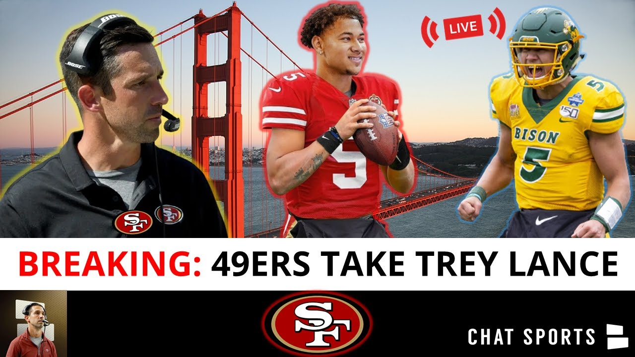 Download BREAKING: San Francisco 49ers Select QB Trey Lance #3 Overall | NFL Draft 2021 Live