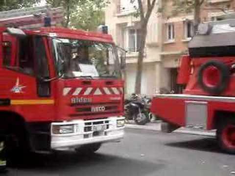 départ pompier grenelle