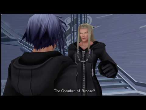 Kingdom Hearts 2 FM Chamber Of Repose Xemnas Secret (Cutscenes)