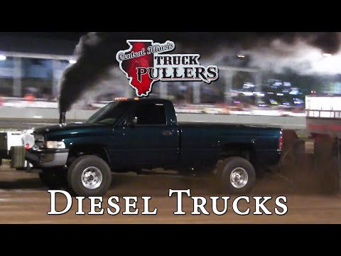 Central Illinois Truck Pullers - 2014 Four-Wheel Drive Diesel Trucks - Truck Pulls Compilation