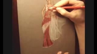 Saree Sketch
