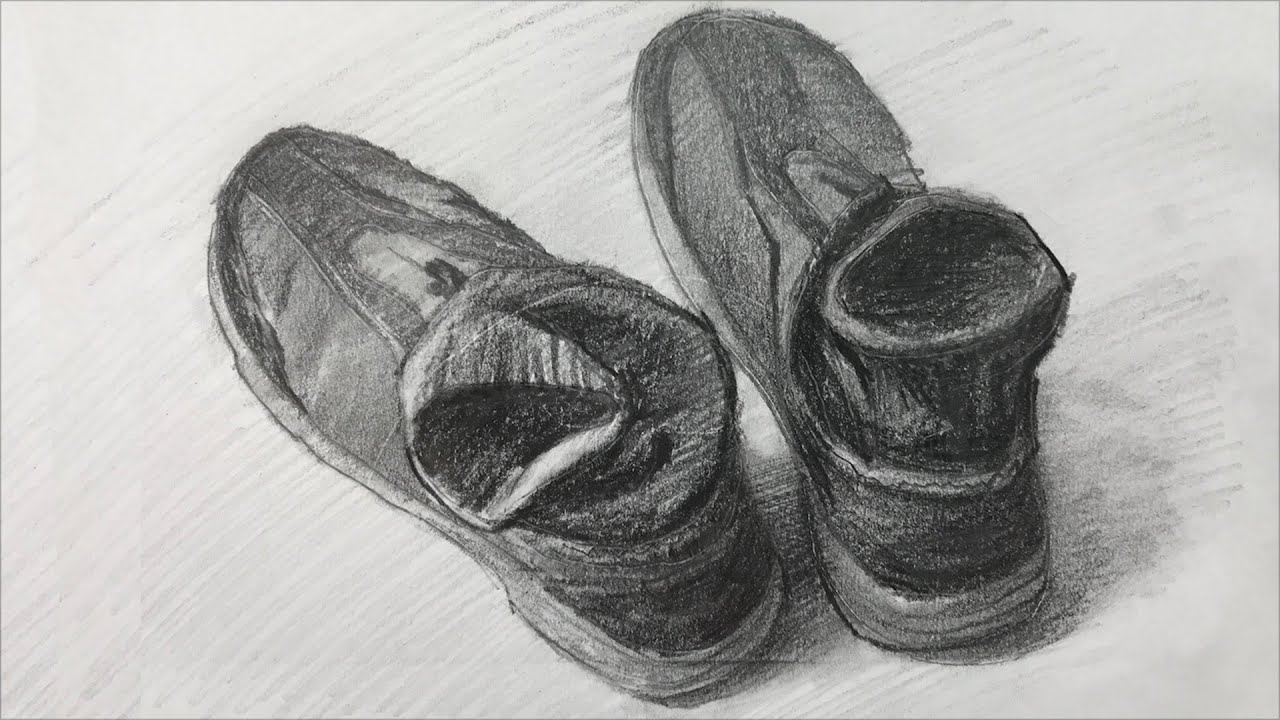This is a graphic of Soft Shoe Drawing Ideas