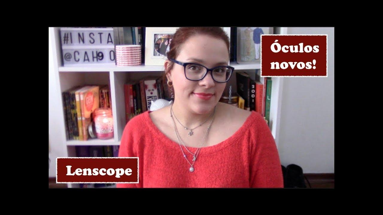1a897b087 Meus óculos de grau novos com a Lenscope! [JABÁ] - YouTube