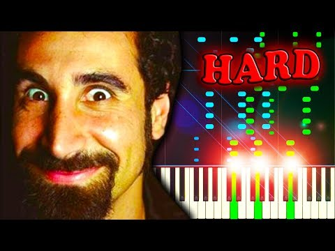 SYSTEM OF A DOWN - CHOP SUEY! - Piano Tutorial