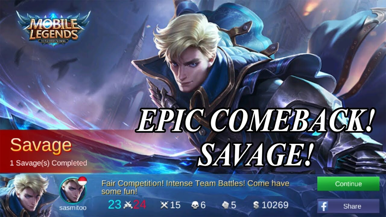 BEST BUILD ALUCARD TUKANG EPIC COMEBACK SAVAGE KILL