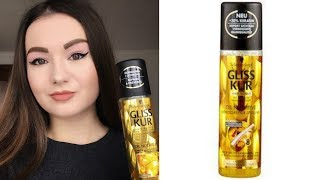 Gliss Kur Oil Nutritive Hair Repair Spray - Review.