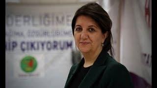 HDP'nin yeni Eş Genel Başkanı Pervin Buldan:  Selahattin bey ve Figen hanımın yolundan yürüyeceğiz