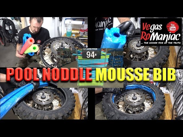 Pool noddle Mousse BIB TEST requested by Subscribers - best stump removal