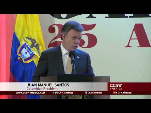 Marijuana legalization receives support from Colombian President Santos