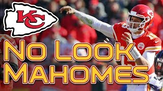 No look! patrick mahomes tyreek hill & travis kelce chiefs down ravens - film roomkansas city qb did the impossible sunday, beating th...