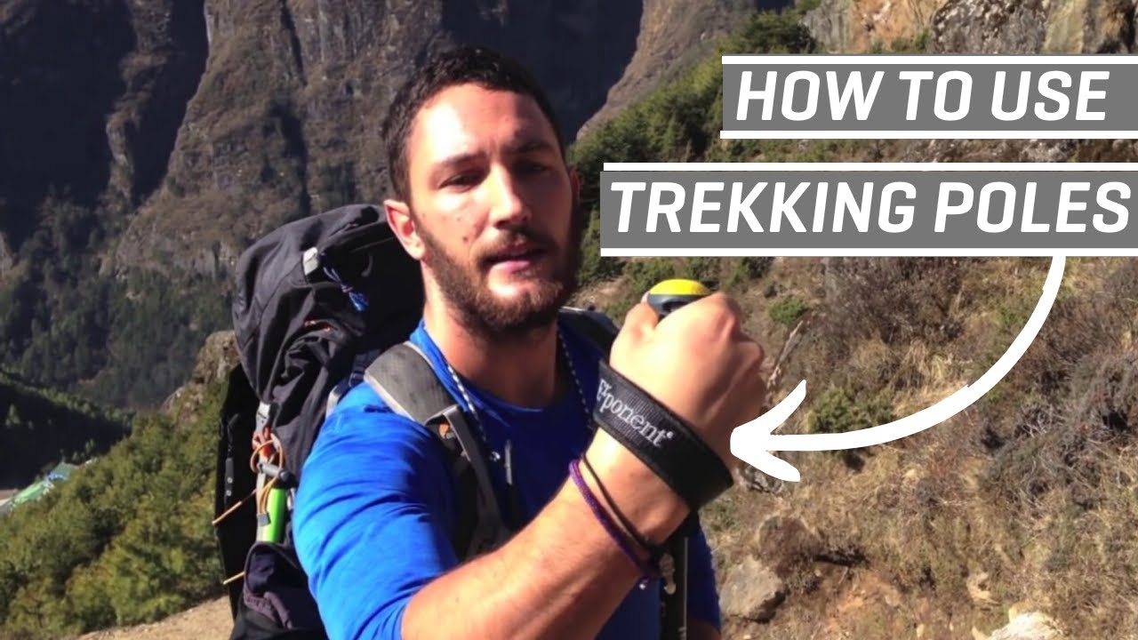 41bf6c4d9ae How to Use Trekking Poles (Like a Boss) - YouTube