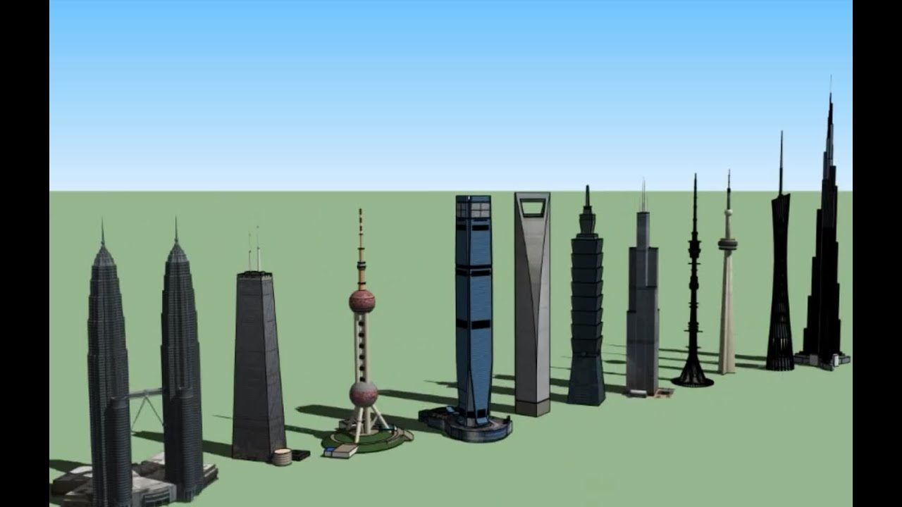 highest buildings of today youtube