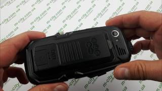 видео обзор защищенного Land Rover S23 3SIM 10000 mAh(БАБУШКОФОН сигма,M7700,S09,texet,fly,S16,a900)