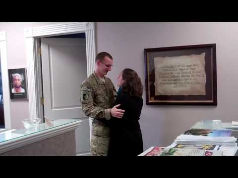 Older brother away at boot camp returns to surprise siblings at school from YouTube · Duration:  2 minutes 5 seconds
