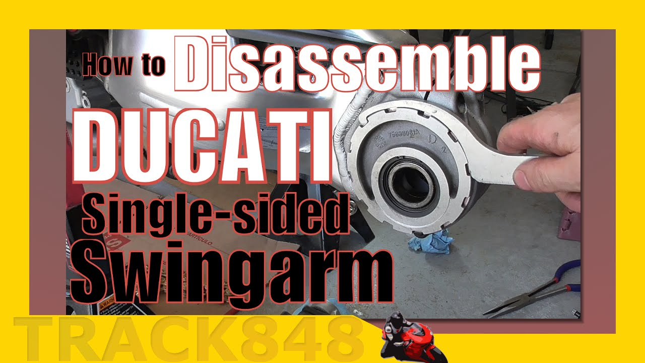 Ducati 848 Swingarm Preventative Maintenance & Mod Research
